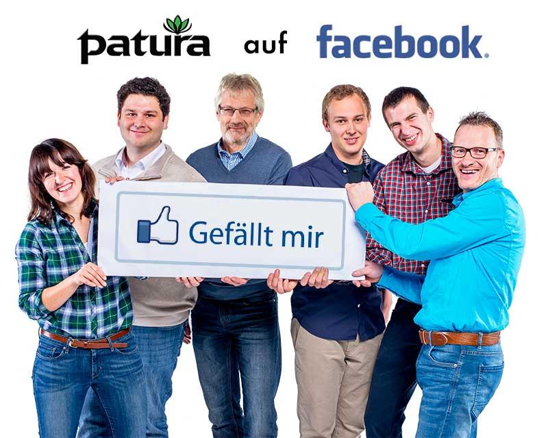 PATURA auf Facebook